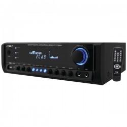 Pyle / Pyle-Pro - PT380AU - PyleHome PT380AU AM/FM Receiver - 4 Channel - 40 Hz to 15 kHz - AM, FM - USB - iPod Supported