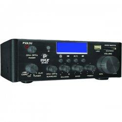 Pyle / Pyle-Pro - PVA3U - Pyle PVA3U Amplifier - 30 W RMS - 0.1% THD - USB