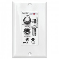 Pyle / Pyle-Pro - PWA15BT - PyleHome PWA15BT A/V Control Panel - Wireless - Smartphone Compatible