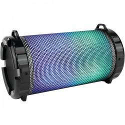 SereneLife - SLBSP12 - SERENE-LIFE SLBSP12 Portable Bluetooth(R) Boom Box & Stereo System with Flashing DJ Lights