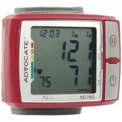 Advocate - KD-7902 - ADVOCATE KD-7902 Wrist Blood Pressure Monitor with Color Indicator