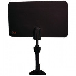 QFX - ANT7 - Qfx Ant7 Hd Dtv Uhf Vhf Fm Ultra Flat Indoor Antenna