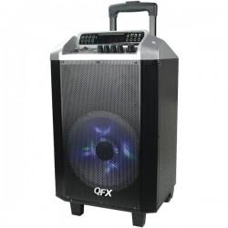 QFX - PBX-2101RED - QFX PBX-2101RED 2, 600-Watt Portable Bluetooth(R) Party Speaker