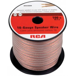 RCA - AH16100SR - RCA(R) AH16100SR 16-Gauge Speaker Wire (100ft)