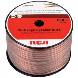 RCA - AH16250SR - RCA(R) AH16250SR 16-Gauge Speaker Wire (250ft)