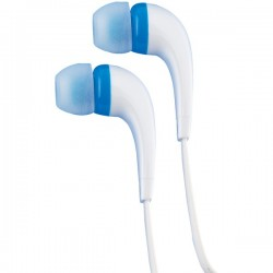 RCA - HP161BL - Rca Hp161bl Blue Earbuds Are For In Ear With Flat Cable And