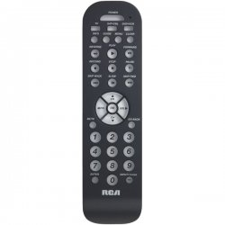 RCA - RCR3273Z - Remote Control, Universal, 3 Device, With Auto Code Search, Slim, Charcoal