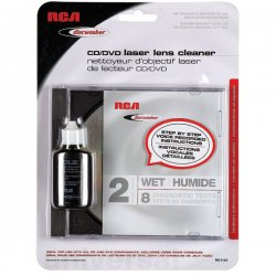 DiscWasher - RD1142 - Discwasher(R) RD1142 CD/DVD Laser Lens Cleaners (2-Brush; Wet)