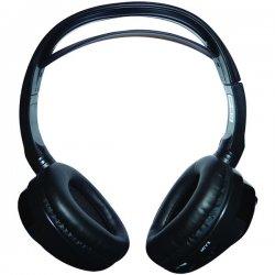 Concept Enterprises - CDC-IR10 - Concept CDC-IR10 Dual-Channel Headphone - Stereo - Wireless - Infrared - 10 ft - 32 Ohm - 30 Hz 20 kHz - Over-the-head - Binaural - Circumaural