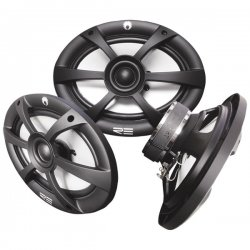 "RE Audio - RE5X7FR - RE AUDIO RE5x7FR FR Series Speakers (5"" x 7""; 2 way; Power handling: 100W - 125W; Nominal rating: 50W - 70W; Freq resp: 55Hz - 20kHz; Efficiency: 90dB; Lowest resonant freq: 100Hz; Crossover freq: 4kHz; Mounting depth: 61mm)"