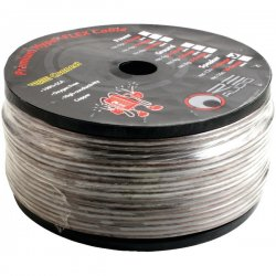 RE Audio - REC-12S - Re Audio Rec-12s Premium Hyper Flex Brown Speaker Wire (12 Gauge; 250 Ft)