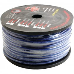RE Audio - REC-8P - RE Audio REC-8P Premium Hyper Flex Blue Power Wire (8 gauge; 250 ft)