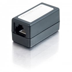 C2G (Cables To Go) - 20201 - C2G Cat5E RJ45 Modular Inline Coupler - Black - 1 x RJ-45 Female - 1 x RJ-45 Female