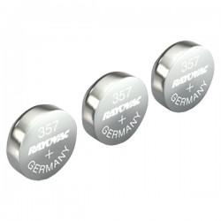 Rayovac - 303/357-3ZMA - Rayovac(R) 303/357-3ZMA 1.5-Volt 303/357 Silver Watch/Electronic Battery (3 pk)