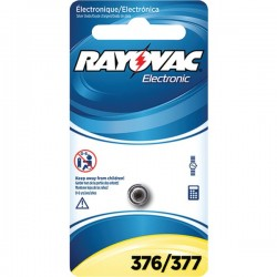 Rayovac - 376/377-1ZMA - Rayovac(R) 376/377-1ZMA 1.5-Volt 376/377 Silver Watch/Electronic Battery