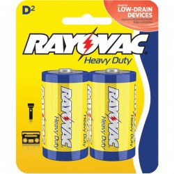 Rayovac - 6d-2bd-packof2 - Battery - 1.5v Hvy-duty 2/pk (pack Of 2)