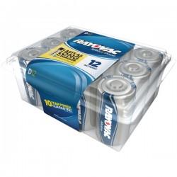 Rayovac - 813-12PPJ - Rayovac(R) 813-12PPJ Alkaline Batteries Reclosable Pro Pack (D, 12 pk)
