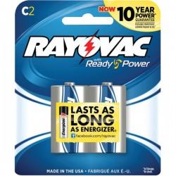 Rayovac - 814-2J - Rayovac(R) 814-2J Alkaline Batteries (C; 2 pk)