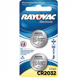 Rayovac - KECR2032-2C - Rayovac(R) KECR2032-2C 3-Volt Lithium Keyless Entry Battery (2 pk; CR2032 Size)