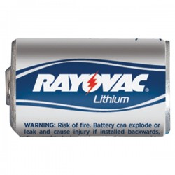 Rayovac - RLCR2-2 - RAYOVAC RLCR2-2 3-Volt Lithium CR2 Photo Battery, Carded (2 pk)