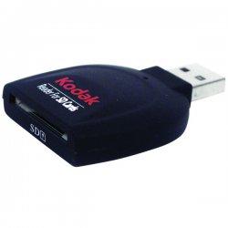 Kodak - 82037 - Kodak R130 Flash USB 2.0 Card Reader/Writer - SD, SDHC, miniSD, microSD, TransFlash, MultiMediaCard (MMC), MMCplus, Reduced Size MultiMediaCard (MMC), Micro Size MultiMediaCard (MMC), MMCmobile - USB 2.0External