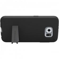 PureGear - 99558VRP - PureGear(R) 99558VRP Slim Shell Case with Kickstand for Samsung(R) Galaxy S(R) 6 (Black)