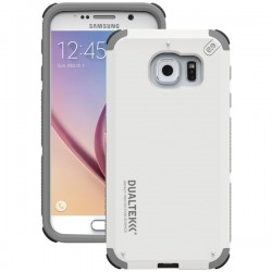 PureGear - 99560VRP - PureGear(R) 99560VRP DualTek(R) Extreme Shock Case for Samsung(R) Galaxy S(R) 6 (Arctic White)