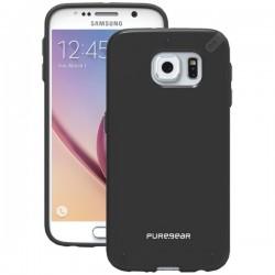 PureGear - 99817VRP - PureGear(R) 99817VRP Slim Shell Case for Samsung(R) Galaxy S(R) 6 (Black)
