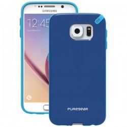 PureGear - 99818VRP - PureGear(R) 99818VRP Slim Shell Case for Samsung(R) Galaxy S(R) 6 (Pacific Blue)