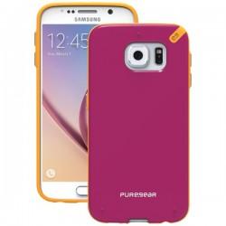 PureGear - 99819VRP - PureGear(R) 99819VRP Slim Shell Case for Samsung(R) Galaxy S(R) 6 (Sunset Pink)