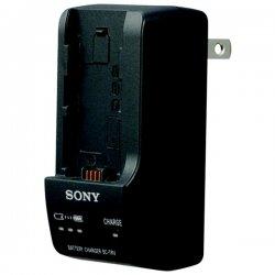Sony - BCTRV - Sony Travel Charger - 110 V AC, 220 V AC Input - 8.4 V DC Output - AC Plug