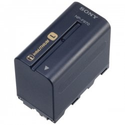 Sony - NP-F970 - Sony InfoLithium L Series Camcorder Battery Pack - Lithium Ion (Li-Ion) - 8.4V DC, 7.2V DC