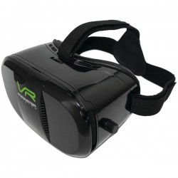 Monster Digital - ACA-0070 - Monster Digital Monster Vision VR Headset - Virtual Reality Headset - For Smartphone - Black