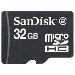 SanDisk - SDSDQ-032G - 32GB SDSDQ-032G microSD High Capacity (microSDHC) Card