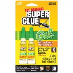 Super Glue - SGG22-12 - Super Glue Gel Double Pack - 2 / Pack - Clear