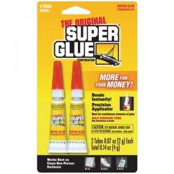 Super Glue - SGH22-12 - Super Glue Gel Double Pack - 2 / Pack - Clear