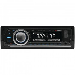 XO Vision - XD107 - XOVision(R) XD107 Single-DIN In-Dash FM/MP3 Stereo Digital Media Receiver with USB Port & SD(TM) Card Slot
