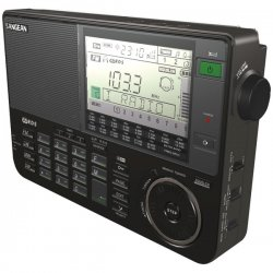 Sangean - ATS-909X-BK - Sangean ATS-909X Radio Tuner - 27 x FM, 9 x LW, 18 x MW, 352 x SW, 1 PresetsLCD Display - 4 x AA