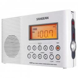 Sangean - h-201 - Sangean H201 AM/FM Shower Radio - 5 x AM, 5 x FM Presets