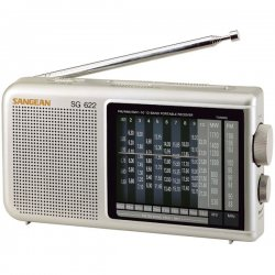 Sangean - SG-622 - Sangean SG 622 Radio Tuner - 3 x AA