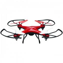 GPX - DCR377R - SkyRider(TM) DCR377R Falcon 2 Pro Quadcopter Drone with Video Camera (Red)