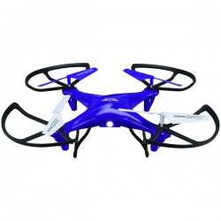 GPX - DRC377PR - SkyRider(TM) DRC377PR Falcon 2 Pro Quadcopter Drone with Video Camera (Purple)
