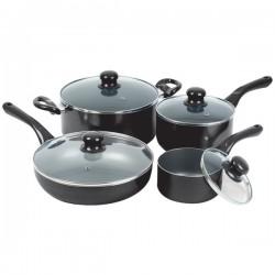 Starfrit - 33032-002-0000 - Starfrit(R) 33032-002-0000 Simplicity 8-Piece Cookware Set with Bakelite(R) Handles