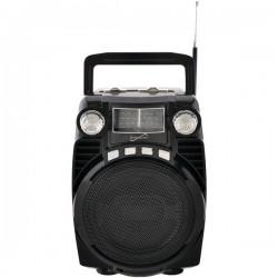 Supersonic - SC-1390-BK - Supersonic sc-1390-BK Bluetooth(R) Portable 4-Band Radio (Black)