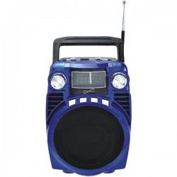 Supersonic - SC-1390-BL - Supersonic sc-1390-BL Bluetooth(R) Portable 4-Band Radio (Blue)