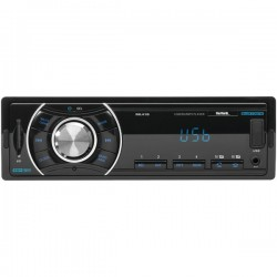 Sound Storm Laboratories - ML41B - SSL ML41B Single-DIN MECH-LESS Multimedia Player (no CD or DVD), Receiver, Bluetooth, Wireless Remote - Plays   MP3/USB/SD