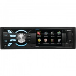 Sound Storm Laboratories - SM316 - SSL SM316 Single-DIN 3.2 inch Screen MECH-LESS Multimedia Player (no CD or DVD), Receiver, Wireless Remote - Plays   MP3/USB/SD