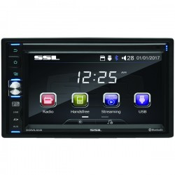 Sound Storm Laboratories - SSLDDML65B - Sound Storm Laboratories(R) SSLDDML65B 6.5 Double-DIN In-Dash Digital Multimedia Receiver with Bluetooth(R)