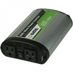 Sima Products - STP-425 - Sima STP-425 DC-to-AC Power Inverter - Input Voltage: 12 V DC - Continuous Power: 425 W