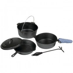 Stansport - 16903 - Cast Iron Set Pre Seasoned